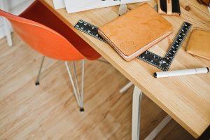 Krzesło przy biurku