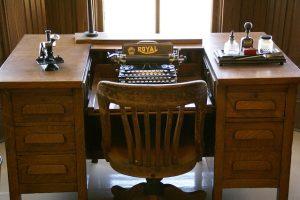 Odnowione biurko