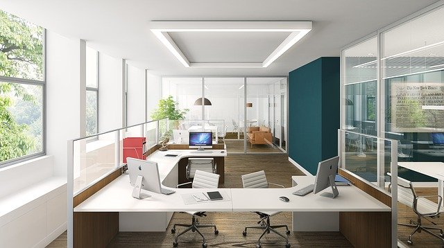 Biurka w open office